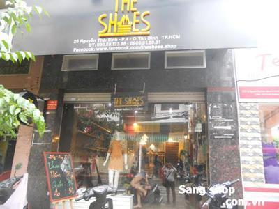 Sang cửa hàng thời trang quận Tân Bình