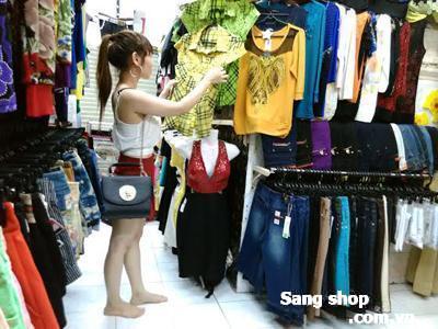 Sang gấp 5 kiôt shop thời trang 2 mặt tiền chợ