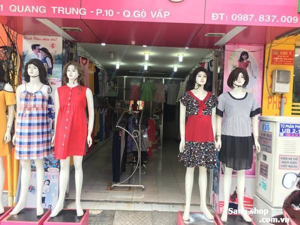 Sang gấp Shop đầm bầu mặt tiền đẹp nhất Quang Trung