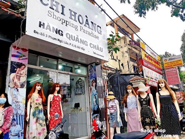 Sang gấp shop mặt tiền trung tâm quận Gò Vấp