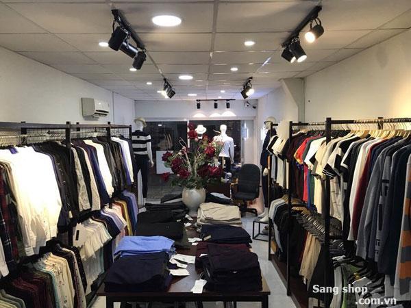 Sang gấp shop thời trang nam đường Quang Trung