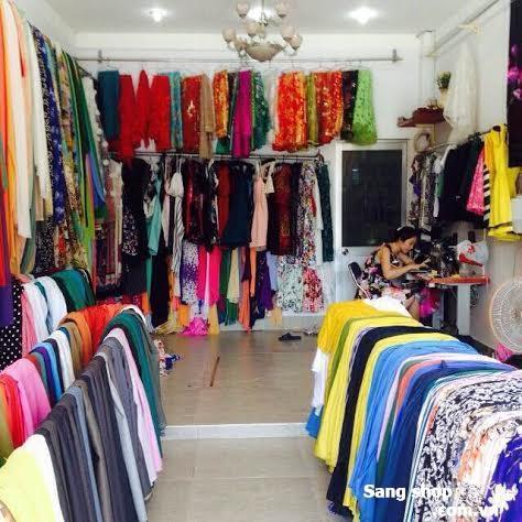 Sang gấp shop thời trang nữ + cửa hàng vải