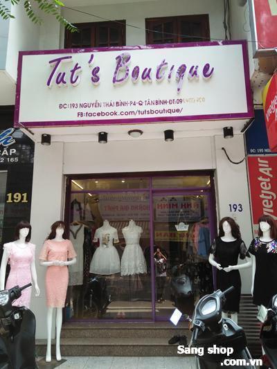 Sang gấp shop thời trang nữ cao cấp Quận Tân Bình