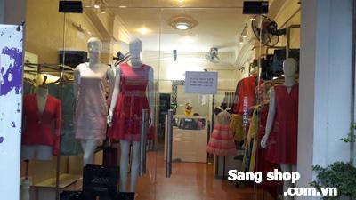 Sang gấp shop thời trang nữ đường Nguyễn Đình Chiểu