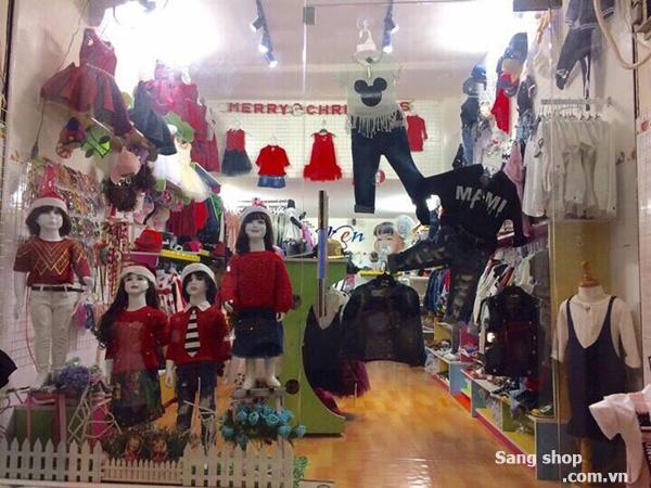 Sang gấp shop thời trang trẻ em cao cấp