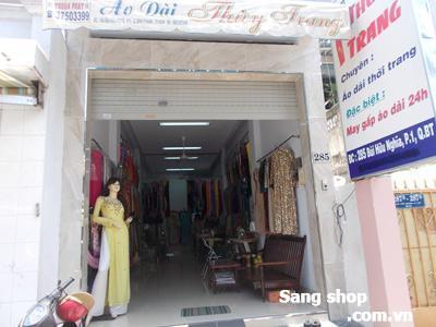 Sang gấp tiệm vải và may áo dài đường Bùi Hữu Nghĩa, Q.Bình Thạnh