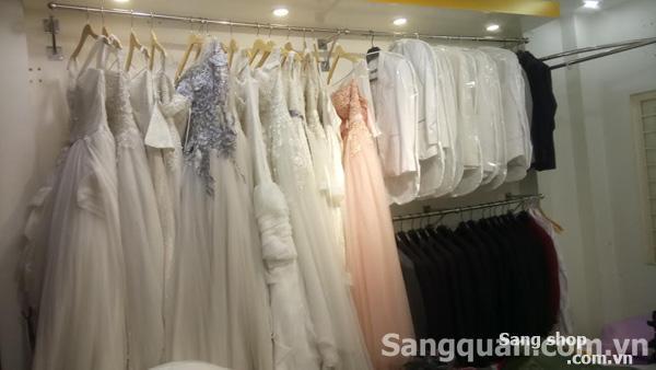 Sang gấp tiệm áo cưới hoặc thanh lý toàn bộ studio Áo cưới