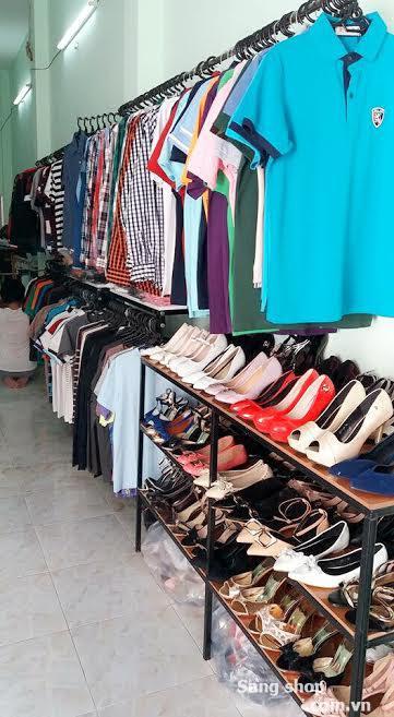 Sang hàng quần áo, giày dép Hàng còn mới 100%