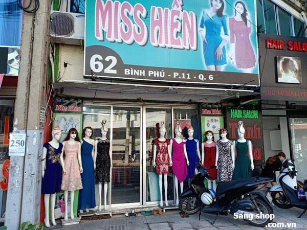sang lại shop thời trang đang kinh doanh tốt