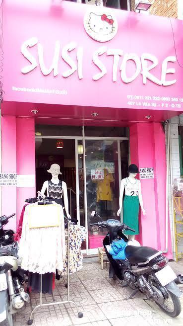 Sang mặt bằng Shop thời trang đường Lê Văn Sỹ