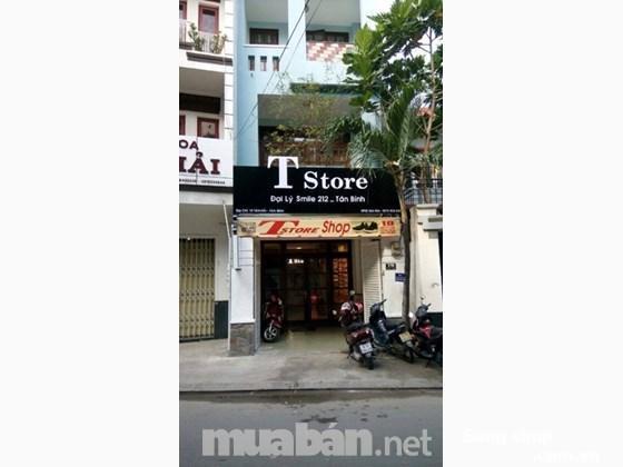 Sang mặt bằng cửa hàng giày mặt tiền 19 Tân Hải, P.13, Tân Bình