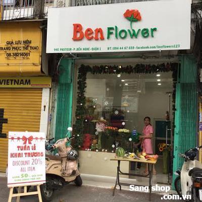 Sang mặt bằng hoặc sang Shop hoa