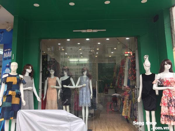 Sang mặt bằng hoặc sang shop mặt tiền Lê Văn Sỹ, Tân Bình