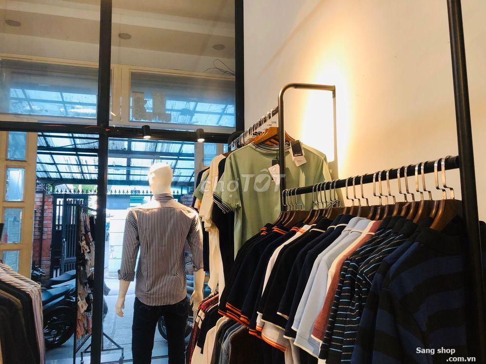 Sang mặt bằng kinh doanh shop quần áo nam