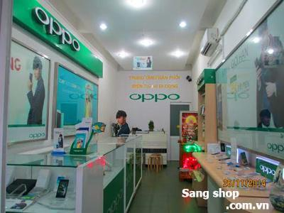 Sang mặt bằng shop bán điện thoại di động