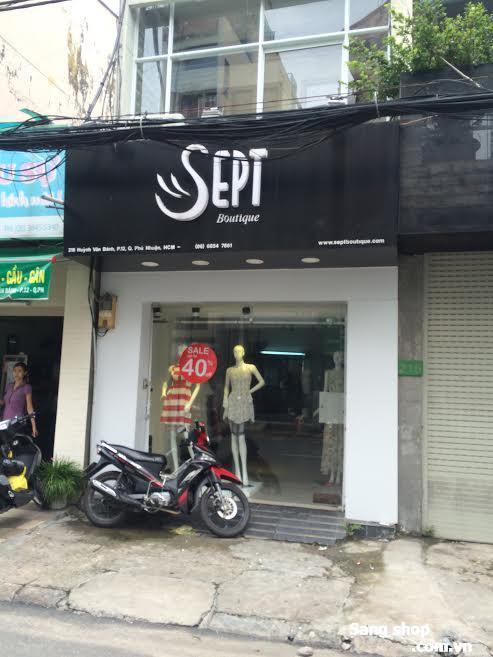 Sang mặt bằng Shop DeCor Cao Cấp đường  Huỳnh Văn Bánh