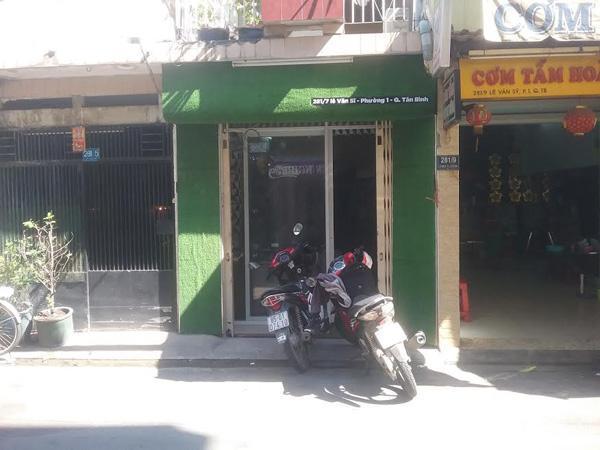 Sang mặt bằng shop đường  Lê Văn Sỹ