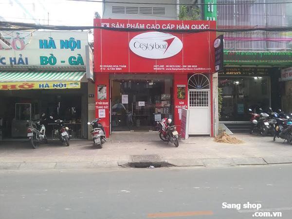 Sang mặt bằng shop đường Hoàng Hoa Thám