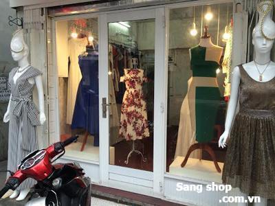 Sang mặt bằng Shop đường Huỳnh Văn Bánh