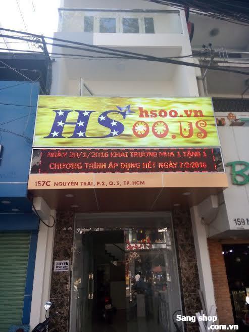 Sang mặt bằng shop đường Nguyễn Trãi