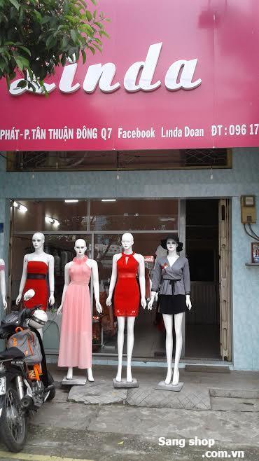 Sang mặt bằng shop 87 Huỳnh Tấn Phát Q7