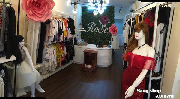 Sang mặt bằng Shop quần áo nữ mặt tiền Nguyễn Trọng Tuyển