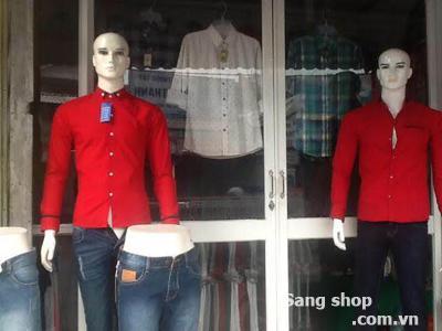 Sang mặt bằng shop thời trang