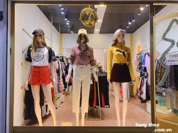 Sang mặt bằng shop thời trang đối diện BigC