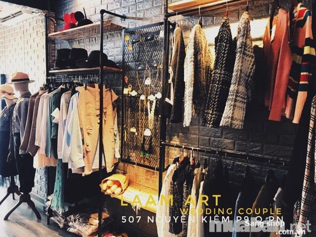 Sang mặt bằng, shop thời trang mặt tiền đường Nguyễn Kiệm