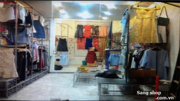 Sang mặt bằng shop thời trang quận Bình Thạnh