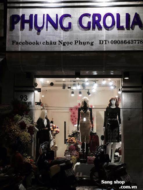 Sang mặt bằng shop thời trang trung tâm quận 3