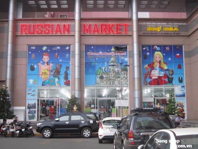 Cho thuê mặt bằng shop TTTM Chợ Nga ( Russian Market )