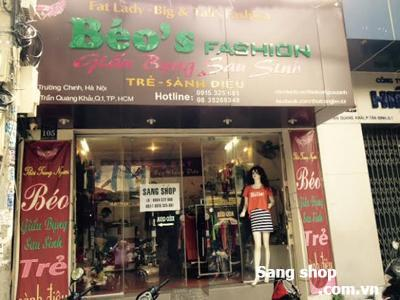 Sang MB hoặc shop thời trang Quận 1