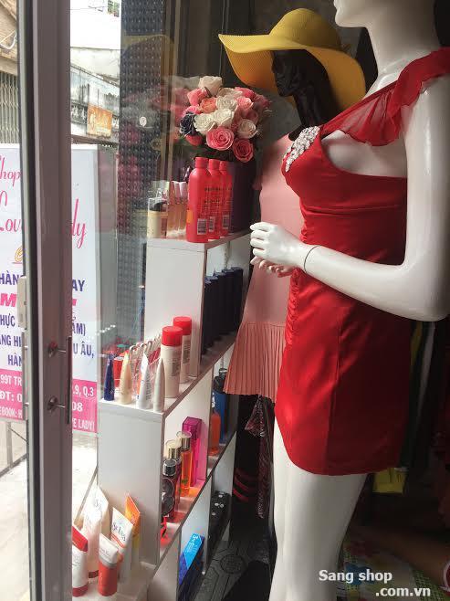 Sang MB hoặc toàn bộ shop thời trang, mỹ phẩm, nước hoa xách tay