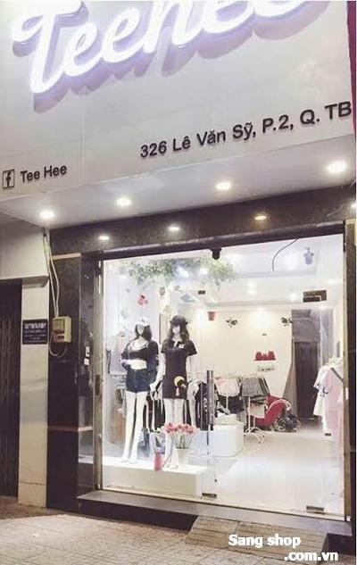 Sang nhượng gấp cửa hàng thời trang nữ quận Tân Bình