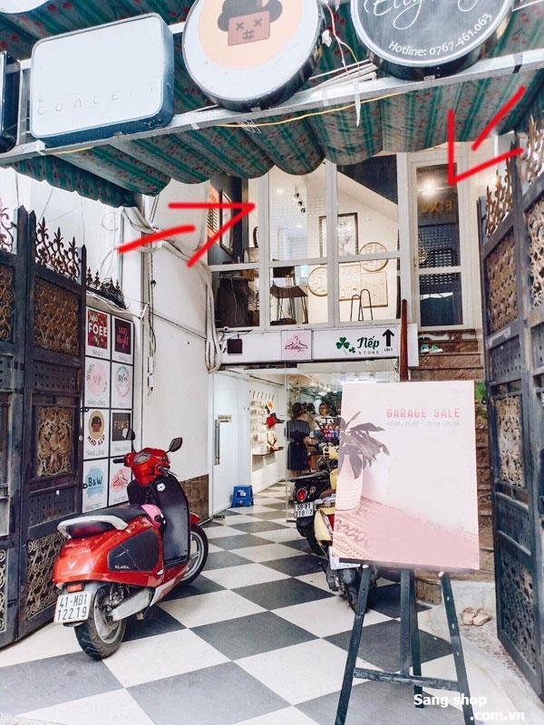 Sang nhượng shop đường Lê Văn Sỹ quận 3