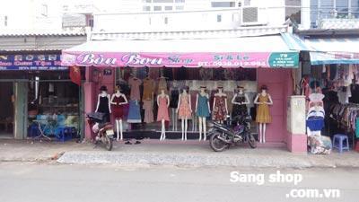 Sang nhượng shop mặt tiền đường Dân Chủ