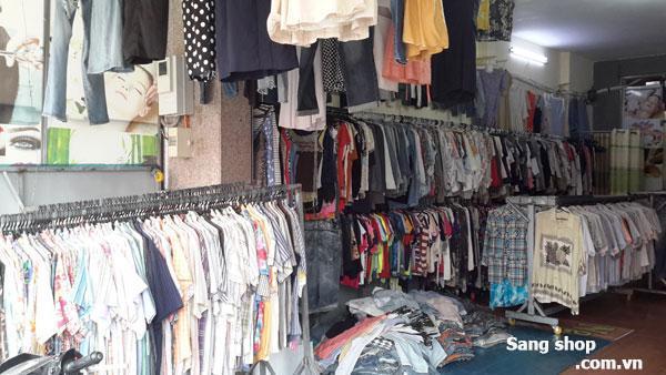 Sang nhượng shop thời trang đồ si ngay chợ Đông Quang