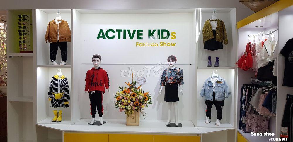 Sang nhượng shop thời trang trẻ em