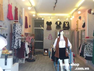 Sang toàn bộ shop + mặt bằng shop quận 3