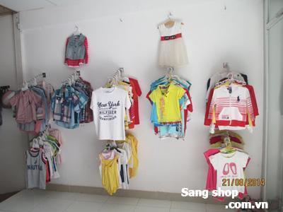 Sang quần áo trẻ em ở quận 7