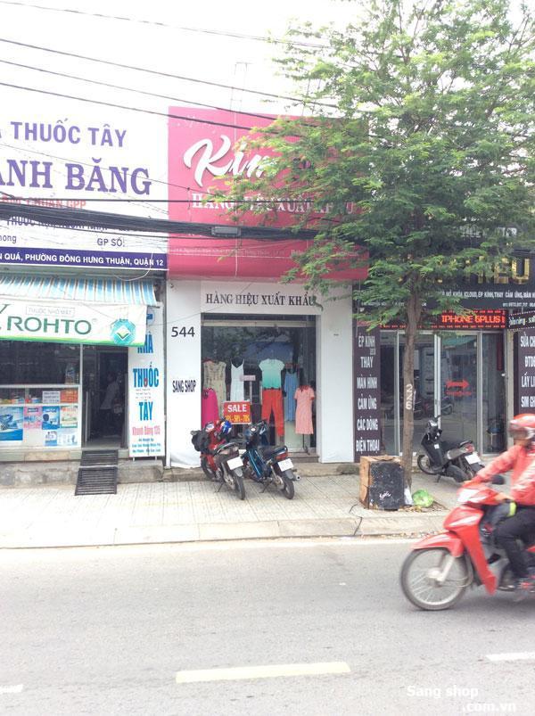 Sang shop mặt tiền 544 Nguyễn Văn Quá