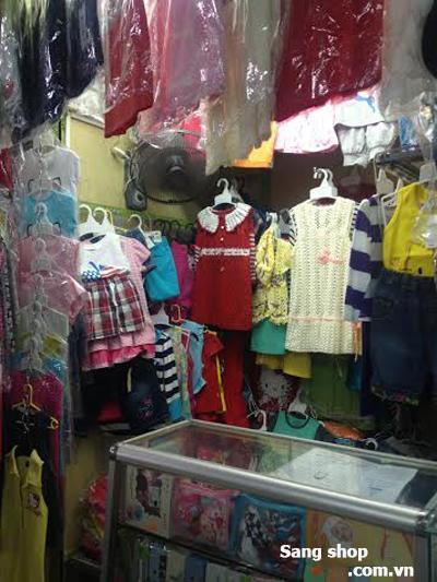 Sang sạp hoặc shop quần áo trẻ em