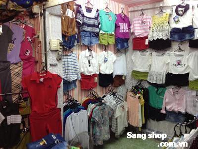 Sang Sạp Quần áo chợ Phạm Văn Hai