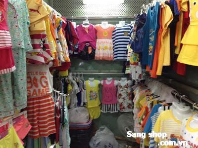 Sang sạp quần áo trẻ em Quận 7
