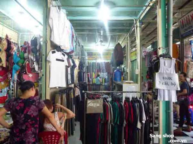 Sang sạp Thời Trang chợ Phước Long