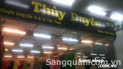 Sang sạp thời trang tại TT Thương Mại GP An Đông 3