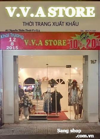 Sang shop  đường Nguyễn Thiện Thuật