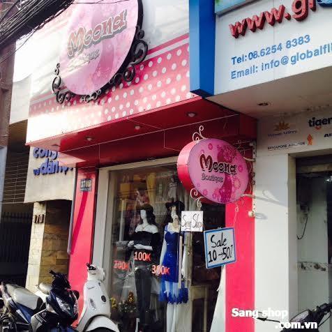 Sang shop + MB + vật tư shop thời trang