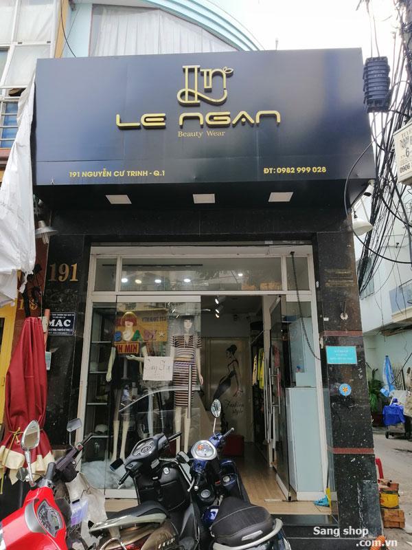 Sang Shop 191 Nguyễn Cư Trinh, Q. 1